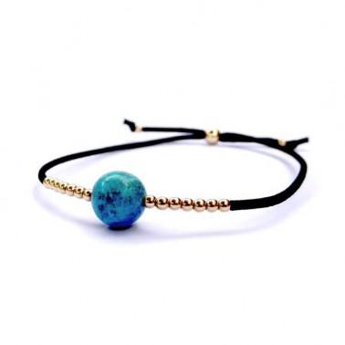 Bracelet turquoise véritable