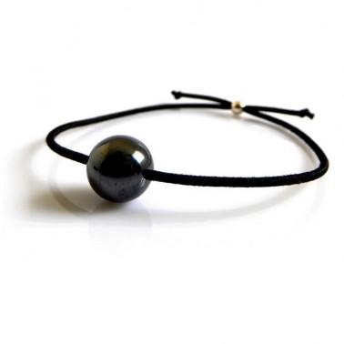 Bracelet mixte hématite