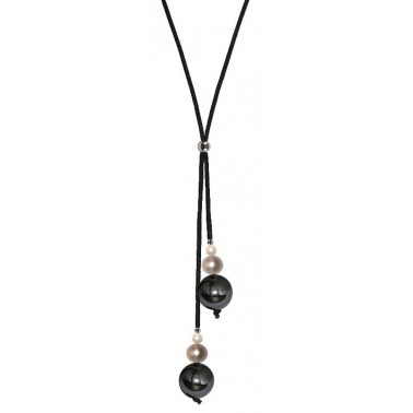 Collier multiperles