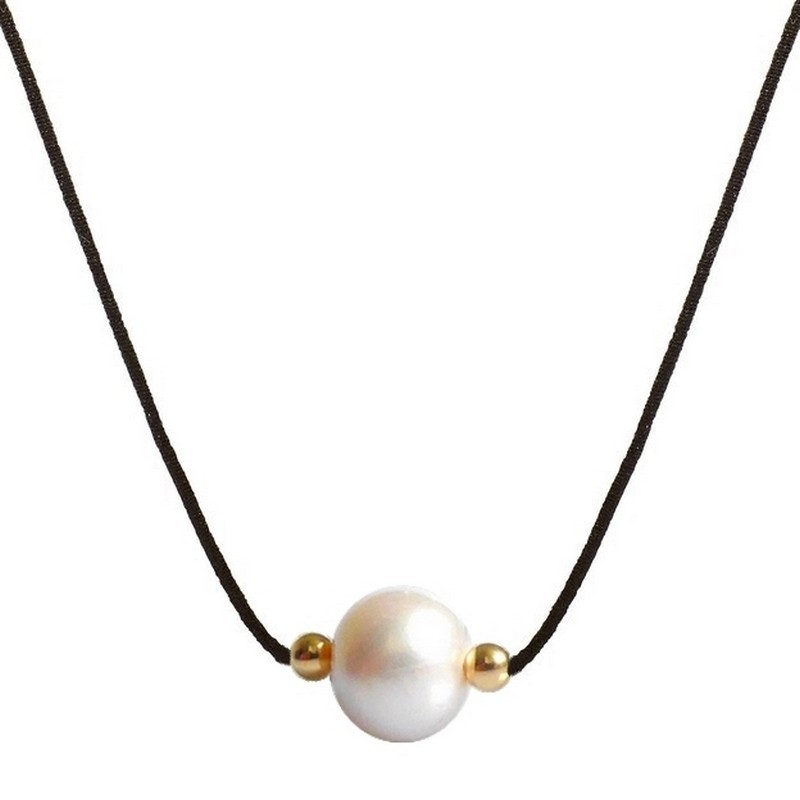 Collier perle de culture