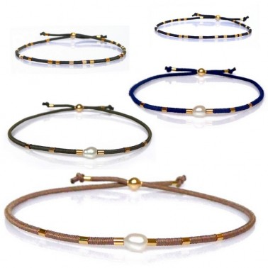 Bracelets mini perle baroque