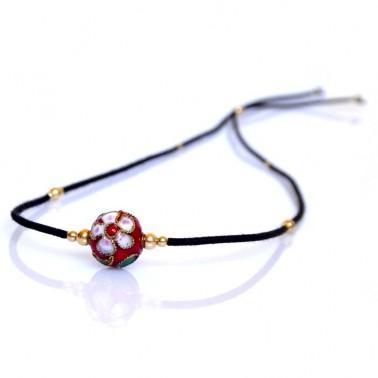 Bracelet perles d'or