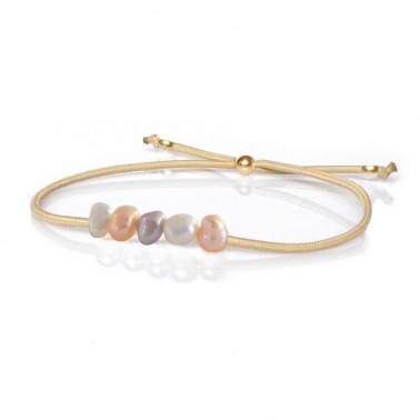 Bracelet perles baroques
