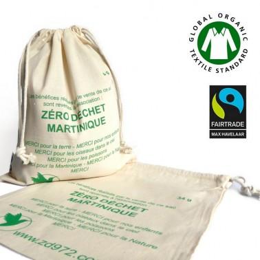 Le sac de vrac en coton bio