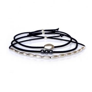Trio de Bracelets Homme