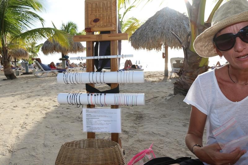 Ma petite boutique BananaBijoux de la plage en Martinique